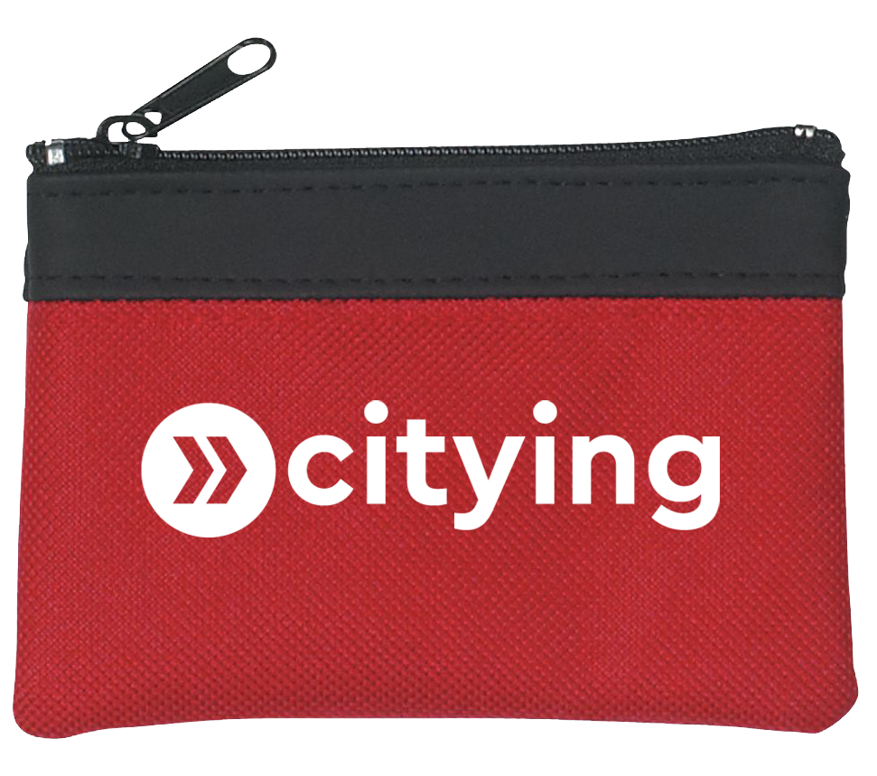 Branded Coin Pouch
